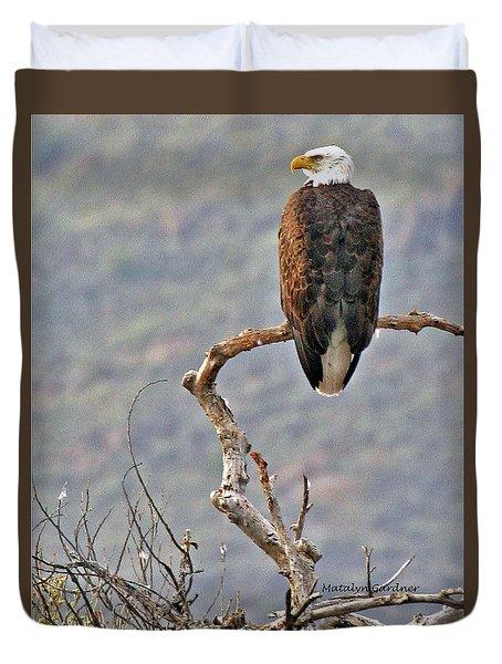 Phoenix Eagle Duvet Cover