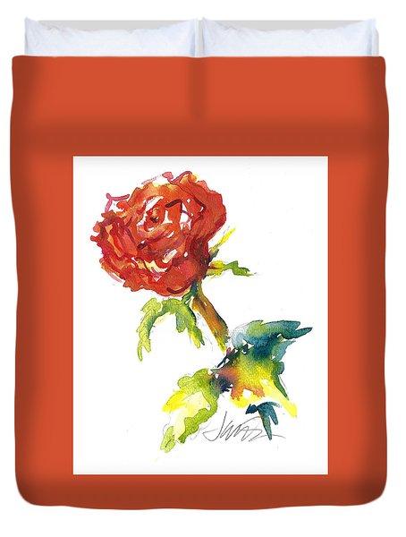 The Phoenix Rose Duvet Cover