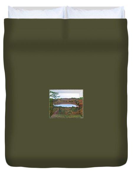 Phoenix Lake Duvet Cover