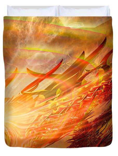 Phoenix Duvet Cover by Michael Durst