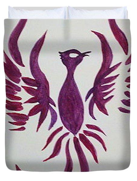 Phoenix Starr Duvet Cover