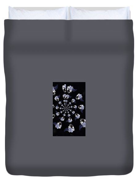 Duvet Cover featuring the photograph Phone Case Designs by Debra     Vatalaro
