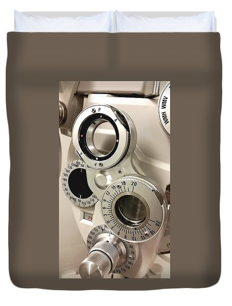 Phoropter Duvet Cover