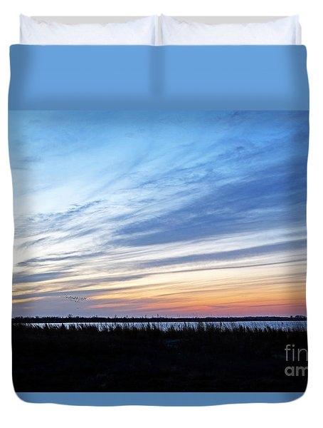 Photo Blind Duvet Cover