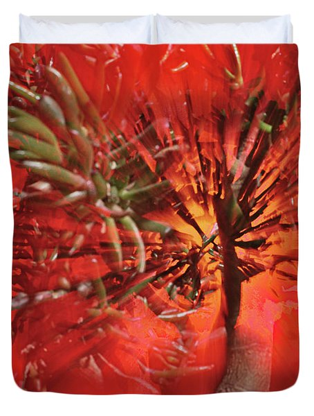 Duvet Cover featuring the photograph Photo Sin Thesis by Susan Capuano