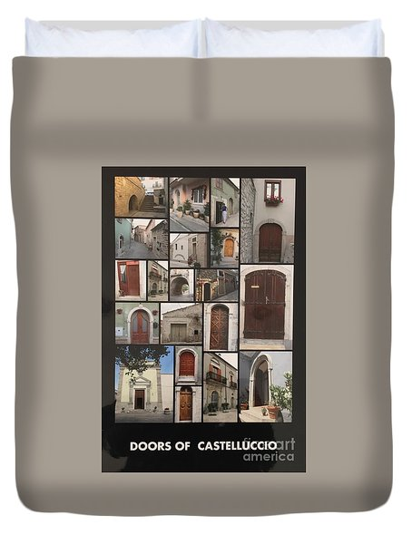 Duvet Cover featuring the photograph Photograph by Lucia Grilletto