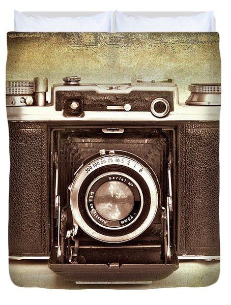 Photographer's Nostalgia Duvet Cover