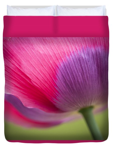 Poppy Close Up Duvet Cover