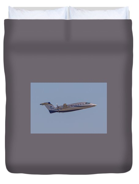 Piaggio P-180 Duvet Cover