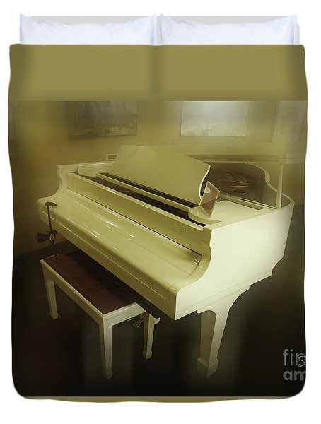 Piano Dream Duvet Cover
