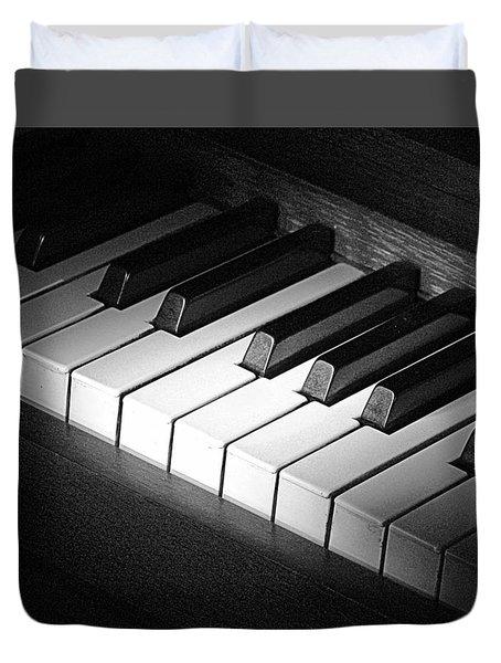 Piano Duvet Cover