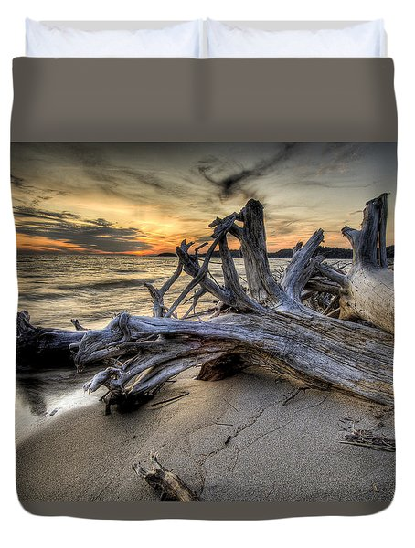 Pic Driftwood Duvet Cover