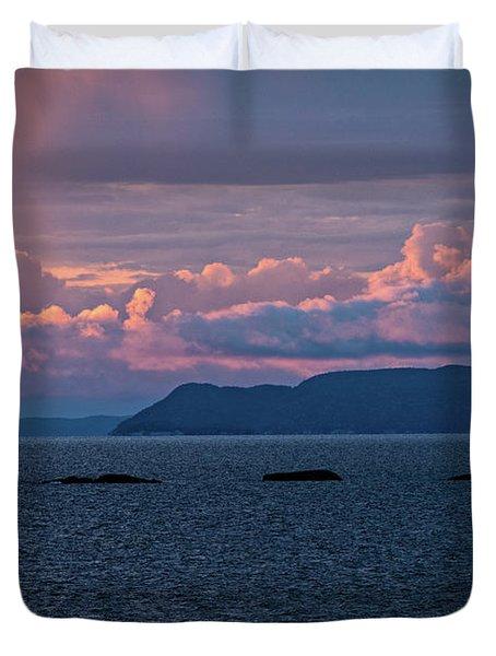 Pic Island Duvet Cover