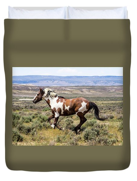 Picasso - Free As The Wind Duvet Cover by Nadja Rider