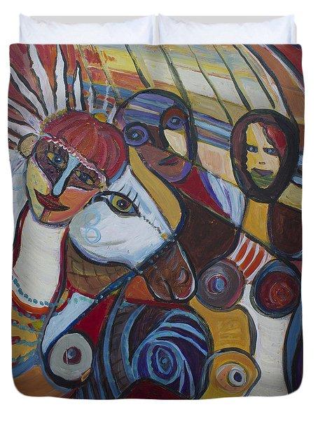Picassos Bride Duvet Cover