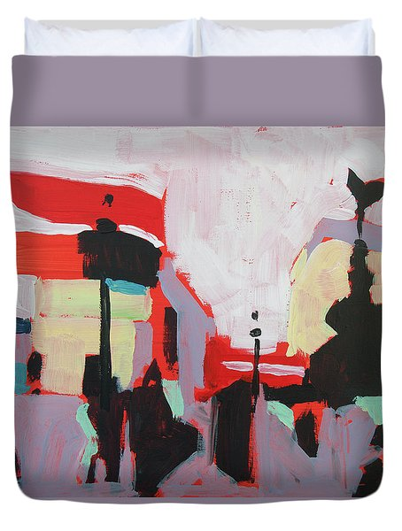 Piccadilly Circus Duvet Cover