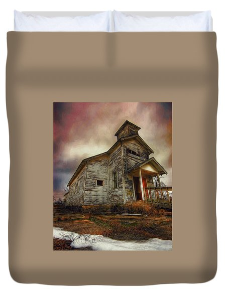Picher Christian Church Duvet Cover