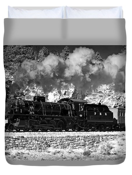 Pichi Richi Railwaytrain Duvet Cover by Bill  Robinson
