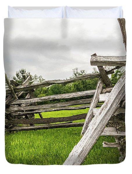 Picket Fence Duvet Cover