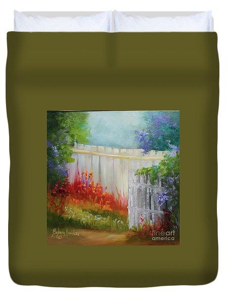 Picket Fences Duvet Cover