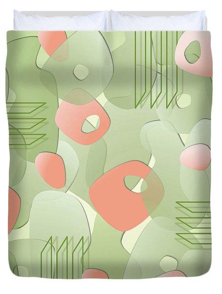 Picket Fences Duvet Cover by Tara Hutton