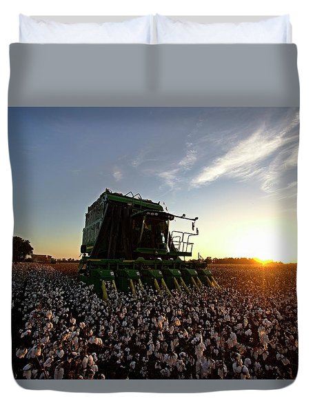Pickin To Sunset Duvet Cover