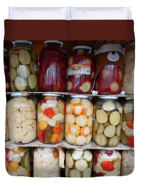 Pickles Anyone?  Duvet Cover