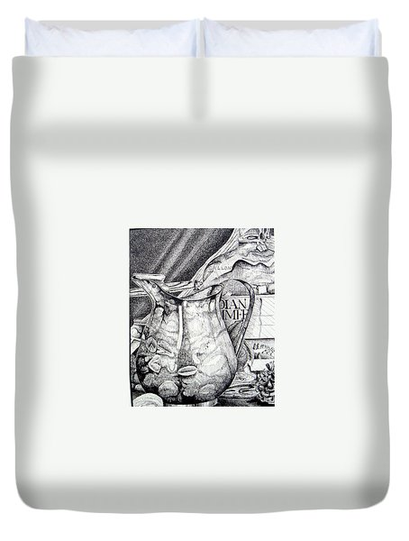 Picture Of Pitcher Duvet Cover