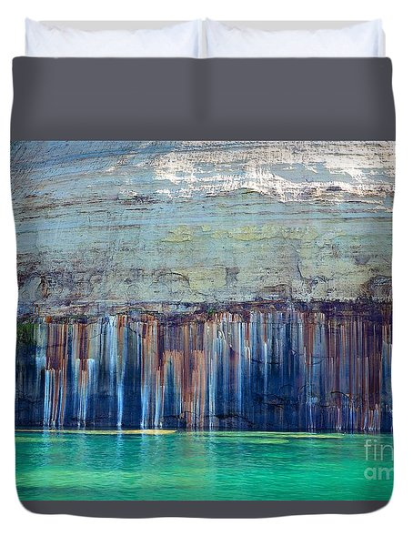 Picture Rock Two Duvet Cover