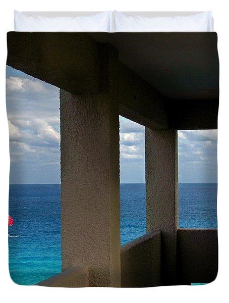 Picture Windows Duvet Cover