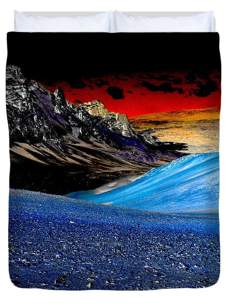 Pictures From Venus Duvet Cover by Rebecca Margraf