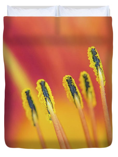 Pictures Of Matchstick Men Duvet Cover