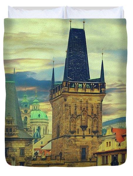 Picturesque - Prague Duvet Cover