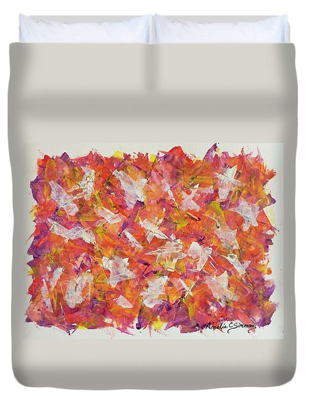 Piecefall  Duvet Cover