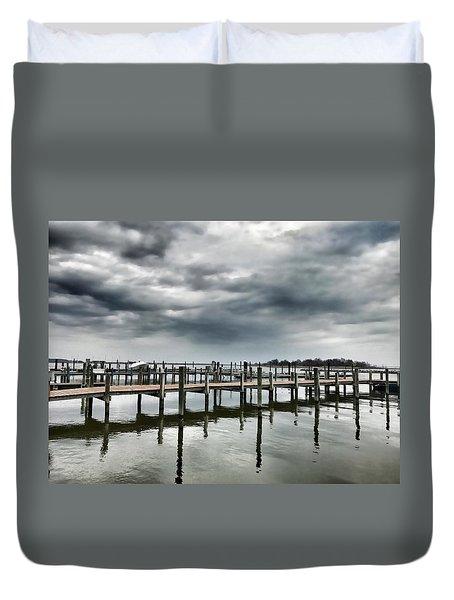 Pier Pressure Duvet Cover