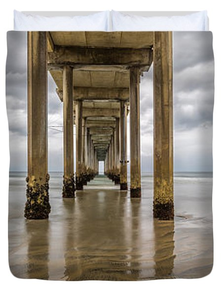 Pier Review Duvet Cover
