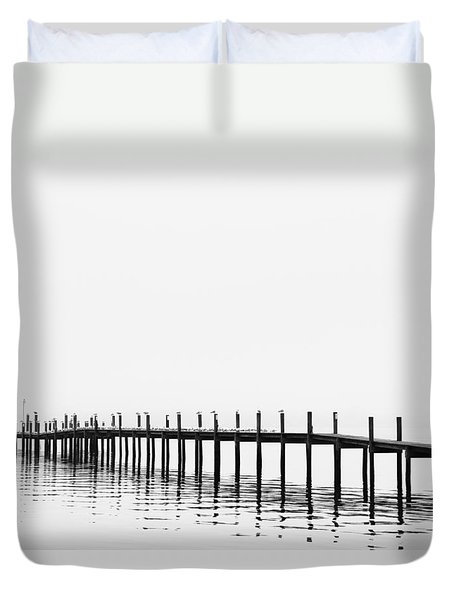 Pier Duvet Cover by Skip Nall