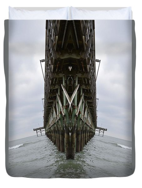 Pier Three Duvet Cover