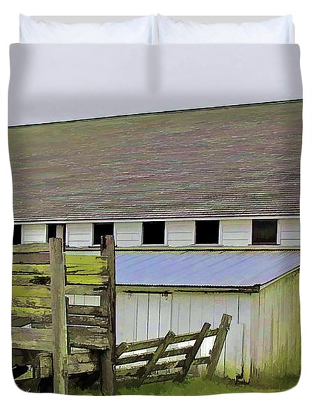 Pierce Pt. Ranch Barn Duvet Cover