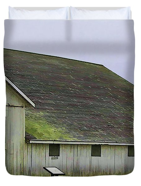 Pierce Pt. Ranch Study Duvet Cover