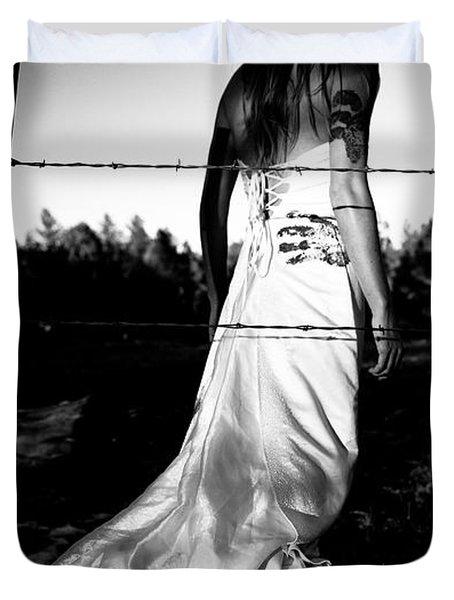 Pierced Dress Duvet Cover by Scott Sawyer