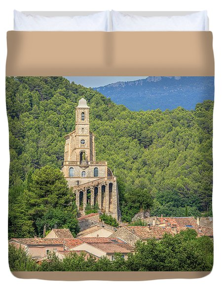 Pierrelongue - France Duvet Cover