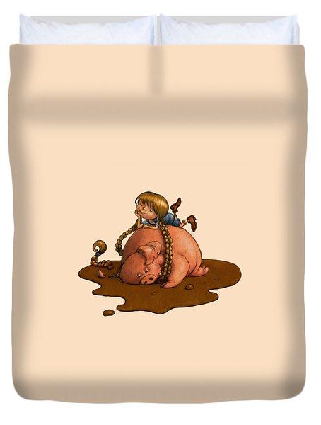 Pig Tales Duvet Cover