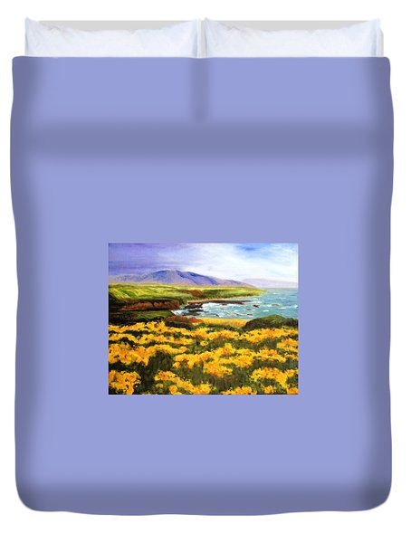 Pigeon Point Duvet Cover by Jamie Frier