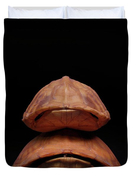 Piggyback Ride Duvet Cover by Adam Long