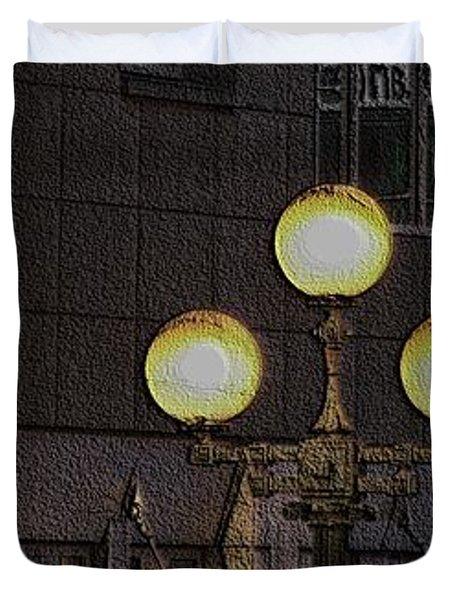 Pike Lights  Duvet Cover by Tim Allen