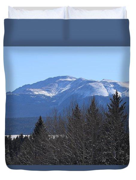 Pikes Peak Cr 511 Divide Co Duvet Cover