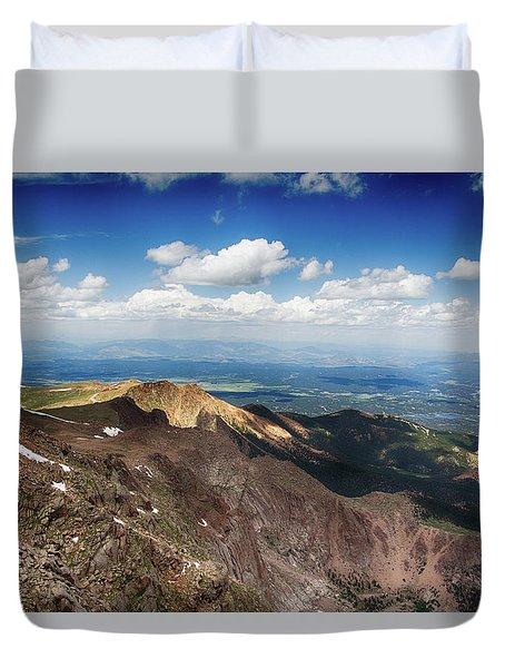 Pikes Peak Duvet Cover