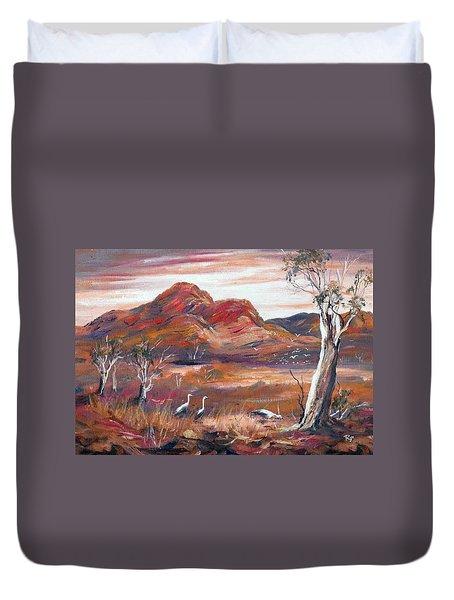 Pilbara, Outback, Western Australia, Duvet Cover