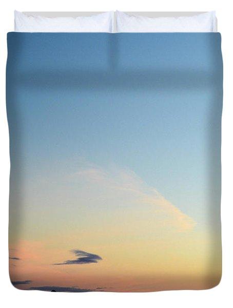 Pilchuck Sunset Duvet Cover